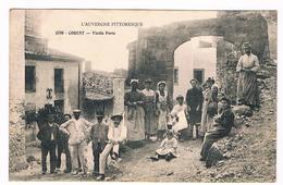 D 63  -  CORENT  - VIELLE  PORTE - Hommes - Femmes - Enfants D'époque   - 6095   MZL - France