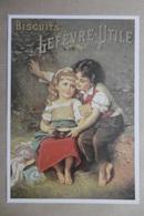 CPM Publicité - Biscuits LEFEVRE-UTILE (PETIT LU) - Advertising