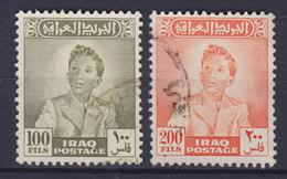 Iraq Irak 1948 Mi. 145-46   100 F & 200 F König Faisal II. High Values !! - Irak