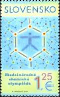 SK 2018-664 The 50th Year Of The International Chemistry Olympiad   SLOVAKIA, 1 X 1V, MNH - Chemie