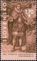 SK 2018-665  The 400th Anniversary Of The Coronation Of Ferdinand II  SLOVAKIA, 1 X 1V, MNH - Slowakische Republik