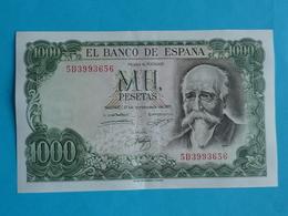 1000  PESETAS 17 SEPTEMBRE 1971 -  5 D 3993656 - [ 3] 1936-1975: Franco