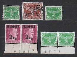 Kleines Lot Feldpostmarken , Postfrisch/gestempelt , Nichts Geprüft - Deutschland