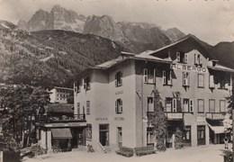MADONNA DI CAMPIGLIO-TRENTO-ALBERGO=MADONNA=CARTOLINA VERA FOTOGRAFIA -VIAGGIATA IL 17-8-1953 - Trento