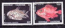 Nuova Caledonia 1991- Pesci -Serie Completa    Usata - Neukaledonien