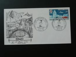 FDC Burin D'Or Gravure Engraving 20 Ans Expéditions Polaires Polar 1968 - Eventi E Commemorazioni