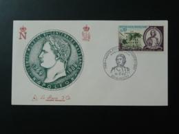 FDC Gravure Engraving Burin D'Or Napoleon Bonaparte Ajaccio 20 Corse 1969 - Napoleon