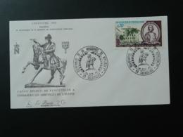 FDC Gravure Engraving Burin D'Or Napoleon Bonaparte Cherbourg 50 Manche 1969 - Napoleon