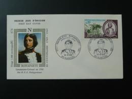 FDC Napoleon Bonaparte Ajaccio 20 Corse 1969 - Napoleon