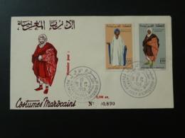 FDC Costume Islam Maroc 10/12/1969 - Costumi