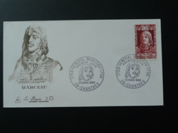 FDC Burin D'Or Gravure Engraving General Marceau Napoleon 28 Chartres 1969 - Napoleon
