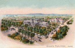 (108)  CPA  Hyeres  Grimm's Park Hotel   (Bon état) - Hyeres