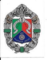 -AUTOCOLLANT--LEGION ETRANGERE/1éR.de Cavalerie/Aubagne-Vers 1990- 9x11,5Cm-TBE-RARE - Autocollants