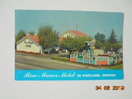 Rose Manor Motel In Portland, Oregon. Dunham 25512 - Portland