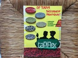 CARTON PUBLICITAIRE TAPIFLEX  SOMMER  Le Tapis Decoratif - Other