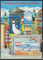 1976 INNSBRUCK - ÄquatGuinea - MiNr: A 546 Block 160 - Winter 1976: Innsbruck