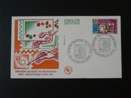 FDC Arphila 1975 Reunion CFA 1974 - Briefe U. Dokumente