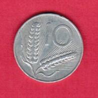 ITALY  10 LIRE 1951 (KM # 93) #5258 - 1946-… : Republic