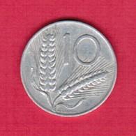 ITALY  10 LIRE 1954 (KM # 93) #5259 - 10 Lire