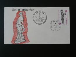 Lettre Cover Art Et Philatélie Europa Oblit. Poste Aux Armées à Berlin 1975 - Aktmalerei