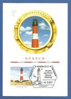 BRD 2007  Mi.Nr. 2613 , Leuchtturm Hörnum - Maximum Card - S Stempel Hörnum (Sylt) -8.-8.2007 - Maximumkarten (MC)