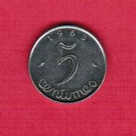FRANCE  5 CENTIMES 1956 (KM # 927) #5261 - France