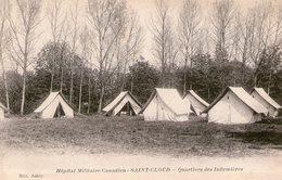 (108)  CPA  Saint Cloud Hopital Militaire Canadien   (Bon état) - Saint Cloud