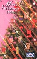 *MALESIA - 8USBA* - Scheda Usata - Christmas