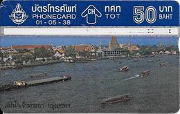 CARTE THAILANDE HOLOGRAPHIQUE-50Bath-1995-FLEUVE MEKONG /BANGOK-Utilisé-TBE - Thaïlande
