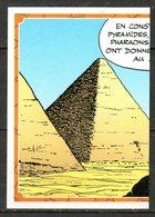 IM424 : Panini Carrefour Asterix 60 Ans / N°090 Pyramide ½ - Panini