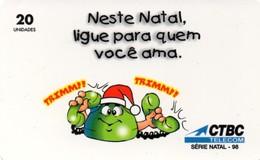 *BRASILE* - Scheda Usata - Christmas