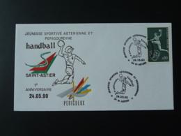 Lettre Cover Handball Saint Astier 24 Dordogne 1990 - Handball