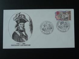 Lettre Cover Toussaint Louverture Revolution Haiti Pontarlier 25 Doubs 1991 - Covers & Documents