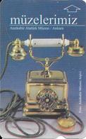 CARTE-MAGNETIQUE-30-TURQUIE-MUSEE ANKARA-TELEPHONE ANCIEN-BE - Turquie