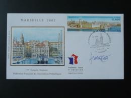 FDC Port De Marseille Signée Lavergne 2002 - FDC