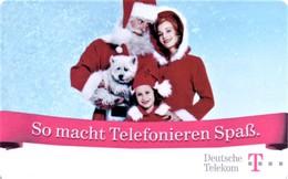*GERMANIA* - Scheda A Chip Usata - Christmas