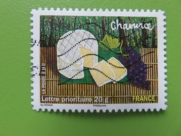 Timbre France YT 441 AA - Les Saveurs De Nos Régions - Chaource (fromage De Champagne-Ardenne) - 2010 - Adhesive Stamps