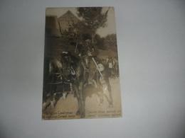 Cavalier Belge Montant N Cheval Allemand Capturé - Casernes