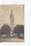 CPA - BARZAN - L'eglise Et Le Monument Aux Morts - Non Circulée   - - Autres Communes