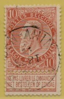 MW-3587      *  BEN AHIN  *    OCB 57     Sterstempel    COBA    + 30 - 1893-1900 Schmaler Bart