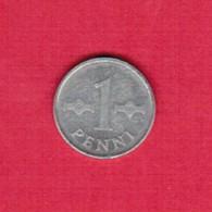 FINLAND  1 PENNI 1972 (KM # 44) #5270 - Finland