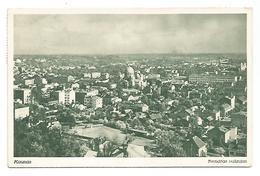 OLD POSTCARD WITH VIEW OF KAUNAS - BENDRAS VAIZDAS ,  1938 . - Litouwen