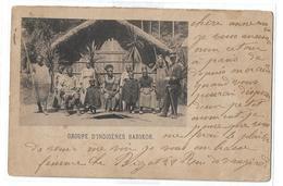 CPA Groupe D'indigènes Basokos Congo Belge Voyagée 1901 - Congo Belga - Altri
