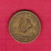 BRITISH CARIBBEAN TERRITORIES  5 CENTS 1955 (KM # 4) #5271 - Britse-karibisher Territorien