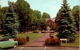 New York Chautauqua Bestor Plaza And Smith Library On Lake Chautauqua - Other