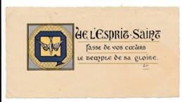 Image Pieuse Holy Card Santino Scoutisme Scout Que L'Esprit Saint Fasse De Vos Coeurs... - Santini