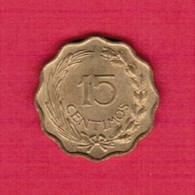 PARAGUAY  15 CENTIMOS 1953 (KM # 26) #5272 - Paraguay