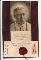 Image Pieuse Holy Card Santino Composition Amateur Reliques PIE X - Images Religieuses