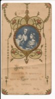 Image Pieuse Holy Card Santino Editeur Bonamy Chromo Gaufrée Relief Jésus Vous Donne 1ère Communion Chanzeaux 1911 - Images Religieuses