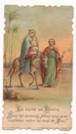 Image Pieuse Holy Card Santino Editeur Bonamy Chromo La Fuite En Egypte - Images Religieuses